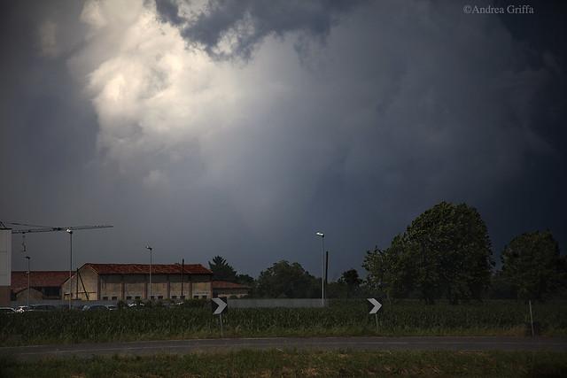 Tornado near Manerbio