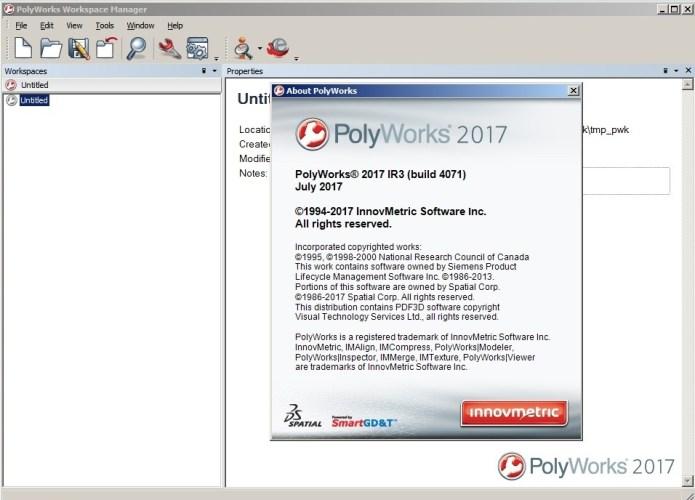 Working with InnovMetric PolyWorks 2017 IR3 Win32 win64 full crack