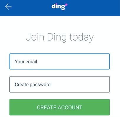 ding 登録