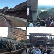 Red rocks. Chris Stapleton. Our happy place!