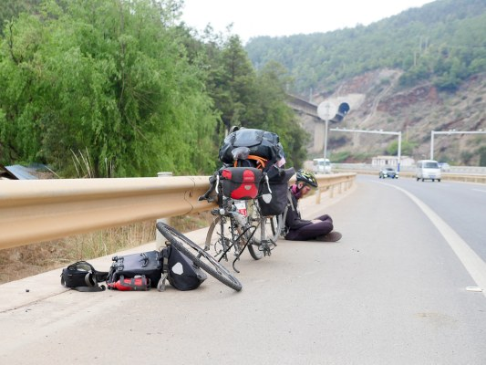 Day Eight – 84km from Xi Ba (西巴镇) to Lijiang (丽江)   Jul, 2017