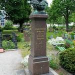 Das Grab von Leopold Alexander Friedrich Arends