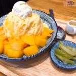 從雲林搬家來台中的﹤老喬冰菓室﹥雪花冰用料實在吃到的食材原味,果醬都使用新鮮水果自行熬煮天然ㄟ尚厚~