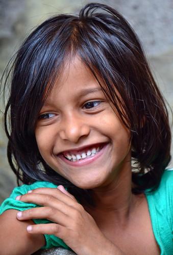 India - Maharashtra - Mumbai - Dharavi Slum - Young Girl - 42