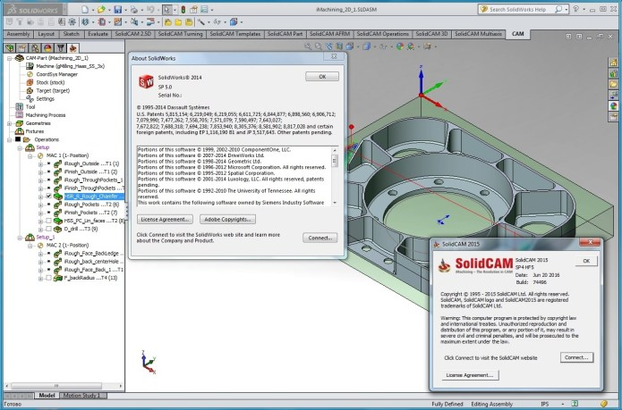 SolidCAM 2015 SP4 HF5 Multilang for SolidWorks 2012-2017 full