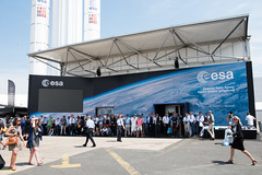 ESA Pavilion, at the 2017 Paris Air and Space Show