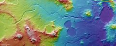 Libya Montes topography