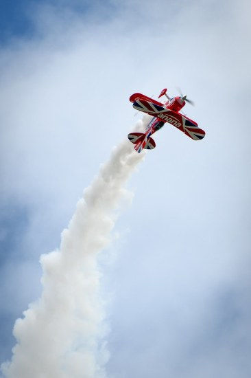 Muscle Biplane at Cosford Airshow