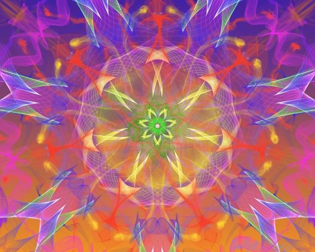 Particle Mandala 3