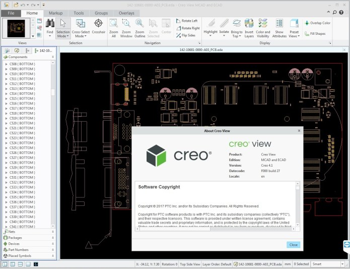 Working with PTC Creo View 4.1 F000 full license