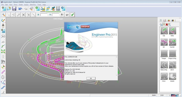 Design shose with Delcam Crispin Engineer Pro 2015 R1 SP4 64bit