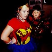 Wonder Woman and Freddy.