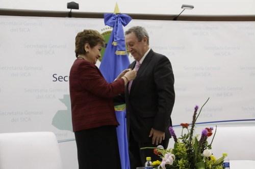 Vinicio Cerezo asume como Secretario General del SICA