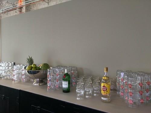 mobile Cocktailbar / Barkeeper Geburtstag Santos Grillschule Köln