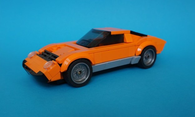 Lego 1971 Lamborghini Miura P400SV - Speed Champions 14