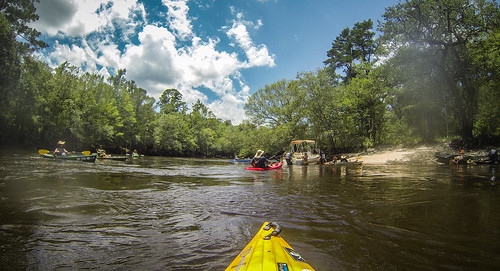 Edisto River Rope Swing and Beer Commercial Float-46