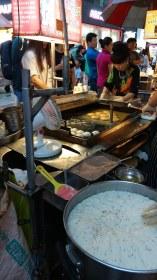 Street food famous in Busan - haddeok