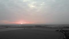 Sunrise im Juli über Braunschweig