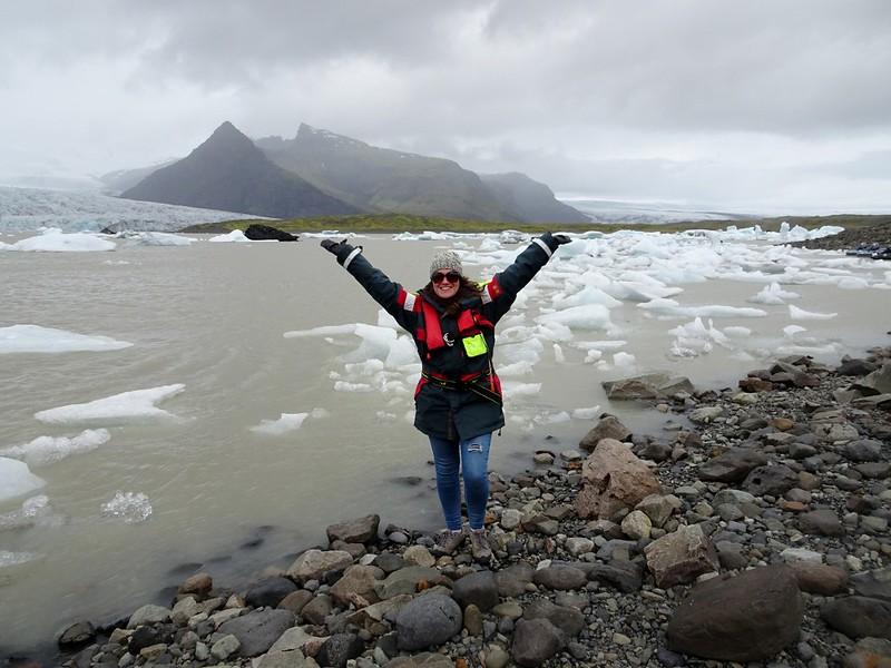 Fjallsarlon Glacial Lagoon - the tea break project solo travel blog