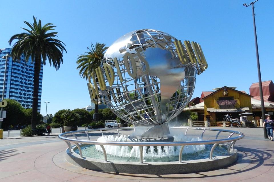 Universal Studios calles escenarios Hollywood EE UU 01