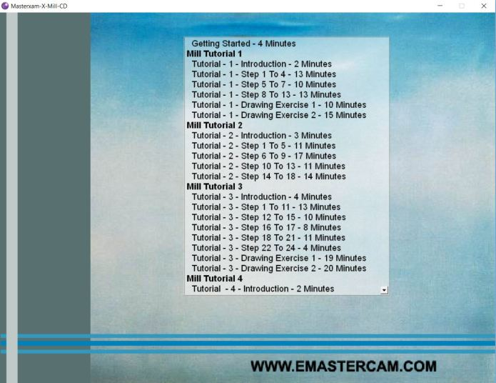 mastercam X(10) video training dvd