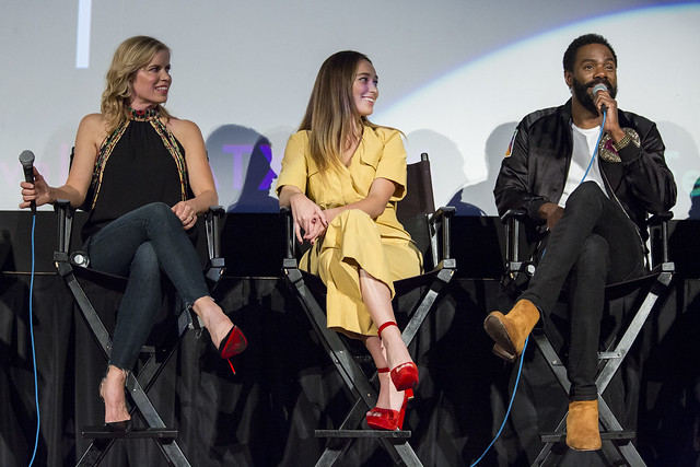Kim Dickens, Alycia Debnam-Carey and Colman Domingo