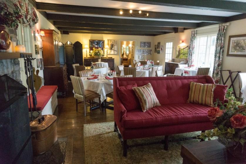 Dining Area of the Buckhorn Inn - Sugarlands Distilling Blogger Trip, Gatlinburg, Tenn., May 5 -7, 2017
