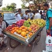 India - Maharashtra - Mumbai - Fruits.