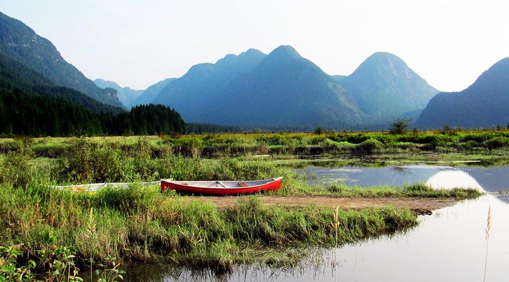 Vancouver canoe