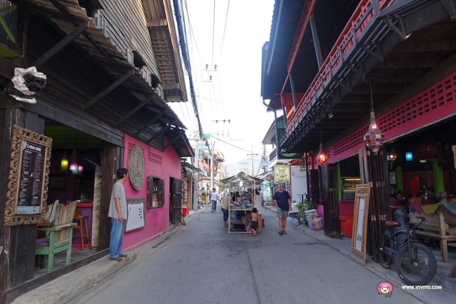 fisherman's village,泰國自助行,泰國蘇梅島,漁人村,蘇梅島,蘇梅島沙灘夜市,超好逛夜市,道地小吃美食 @VIVIYU小世界