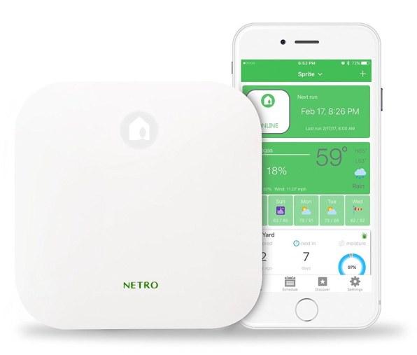 Netro smart WiFi sprinkler controller