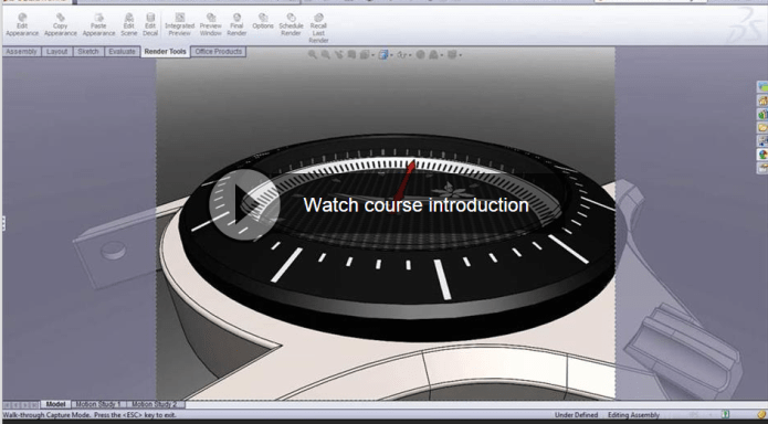 SolidWorks Rendering with PhotoView 360