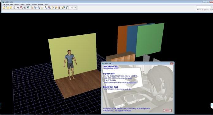Working with Siemens Tecnomatix Jack 8.4 full