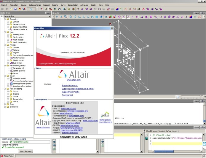 working with Altair Flux 12.2 Win64 full crack