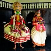 India - Kerala - Fort Cochin - Kathakali Dancer - 131
