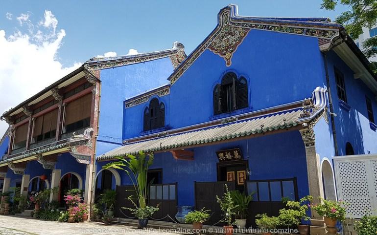 คฤหาสน์สีคราม Blue Mansion (Cheong Fatt Tze Mansion) ที่เที่ยวเมืองปีนัง