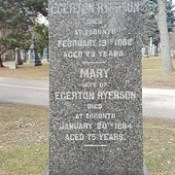 Egerton Ryerson.