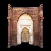 India - Delhi - Qutb Complex - Tomb Of Iltutmish - Detail - 10d.