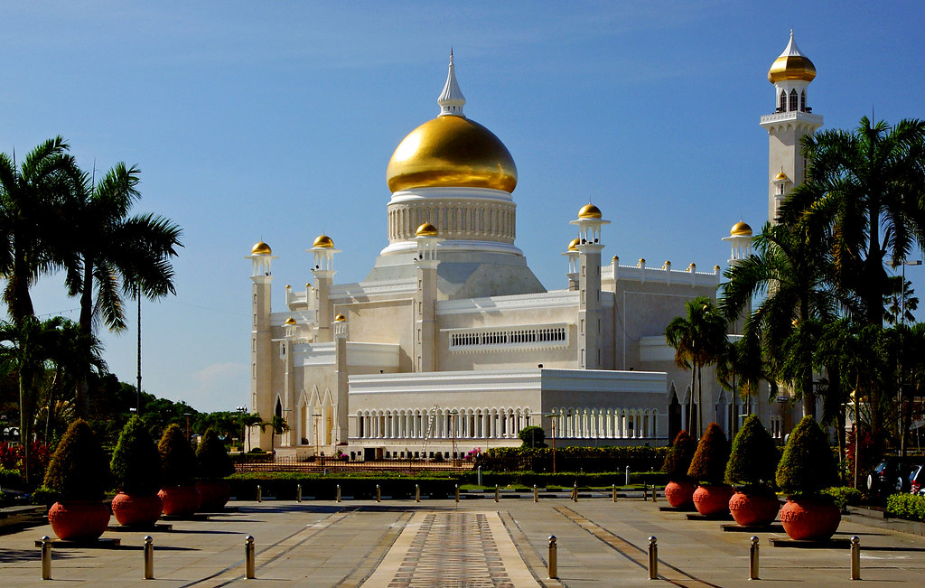 Omar Ali Saifuddien Mosque.