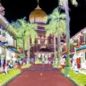 Singapore - Sultan Mosque - 119bb