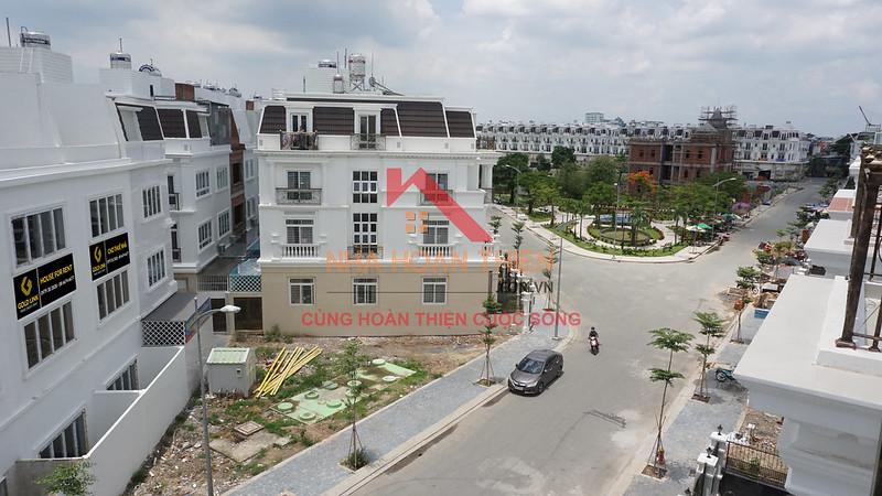 Khu dân dư CityLand Center Hills - Quận Gò Vấp.