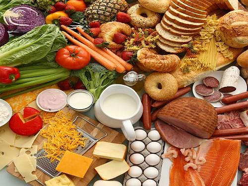 Hidratos de carbono, proteínas e gorduras