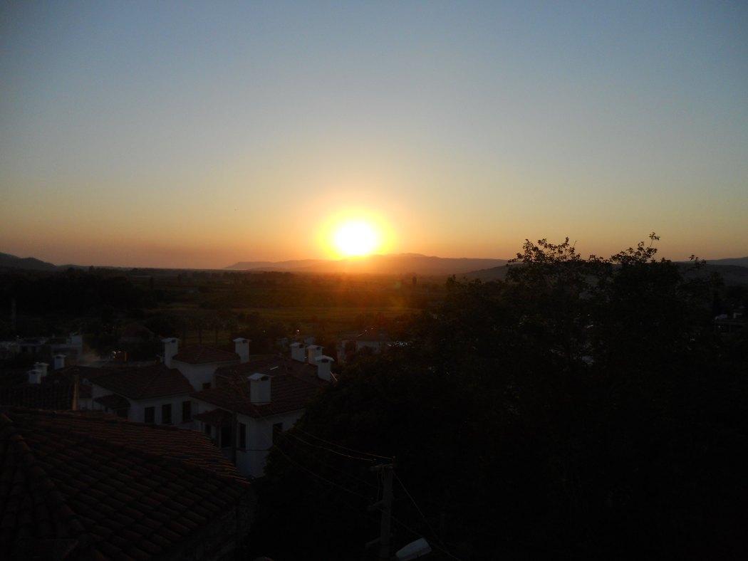 Sunset over Selcuk