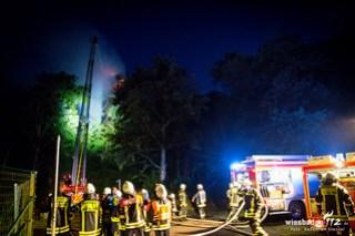 Feuer Atzelbergturm Kelkheim-Eppenhain 03.07.17