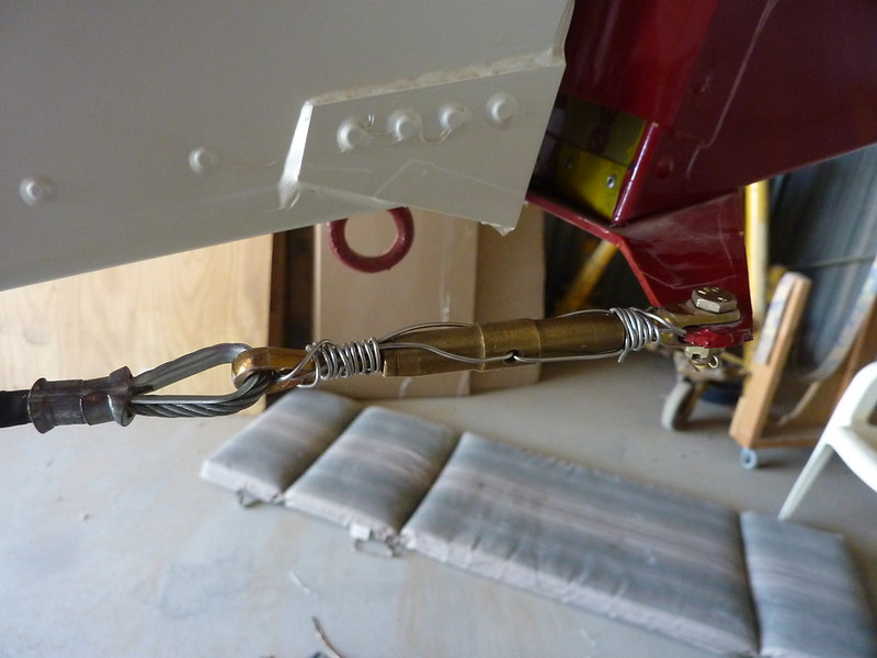 Double wire safety tied