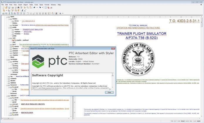PTC Arbortext Editor 7.0 M060 Win64 full license