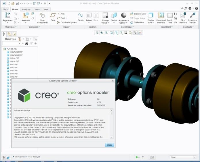 PTC Creo 3.0 M120 molder
