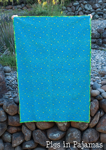 Baby Boy Nighttime Quilt