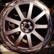 Someone's happy with their freshly painted alloys, it could be you! Contact us on Facebook for a quote! #saturday #alloys #refurbishedwheels #quote #alloys #totalrestorealloys.