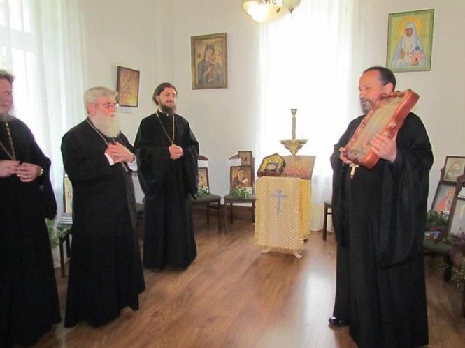 Протоієрей Володимир Косточка в Польщі